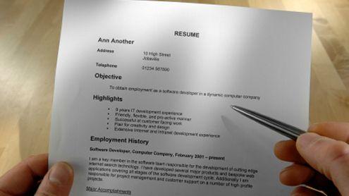 good enough resume